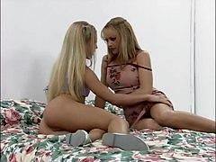 Blondes Lesbians Sex Toys