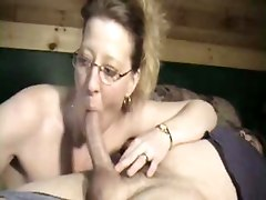deep throat mature sleeping cum blowjob