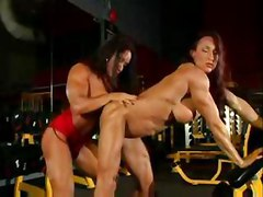 muscle strong femdom lesbians lesbian extreme weird bizarre fetish