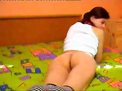 skinny tight webcam teenie socks