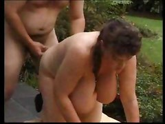 Big tits boobs fisting blowjob handjob suck lick garden outdoor mature bbw juggs 