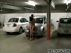 amateur public sex hardcore parking lot homemade couple
