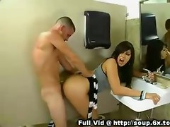 hardcore milf brunette shaved mature smalltits pussyfucking toilet