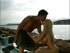 cumshot hardcore blonde outdoor blowjob bigtits beach pussyfucking