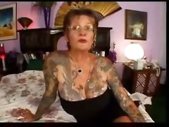 tattoo granny big tits blowjob cumshot amateur mature redhead hairy pussy fetish