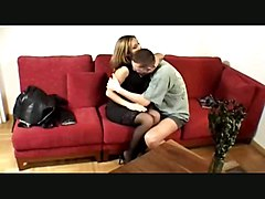 pussylicking doggystyle cumshot european stockings teasing panties riding fingering blowjob handjob piercing tight facial lingerie brunette
