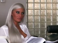 hot blonde hardcore cumshot office sex blowjob