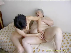 Old Lady Getting Fisted By Another Woman