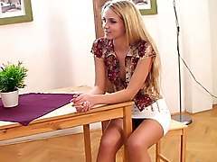blonde  teen  teen sex  european  long legs  cute  sexy  babe  hot  mini  mini skirt  skirt  tall  grey eyes  beautiful body  clothes off  beautiful legs  small tits  beautiful tits  home  from behind  table  czech  pussy cumshot  long hair  moan  wh Anet