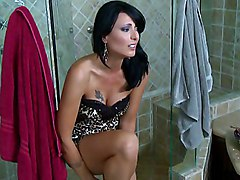 brunette  milf  tall  beautiful body  undress  clothes off  shower  hot  sexy  wife  housewife  mature  big cock  cock ride  bed  home  dark  decorations  on side  hardcore  fuck  fucking  couple Zoey Holloway  Keiran Lee