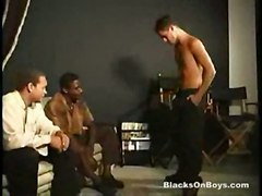 anal cum black fucking cock interracial ass blowjob white boys gay way homo homosexual 2on1