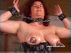 BDSM pussy big tits horny mature pussy