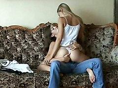lesbian teen small tits russian european pussylicking brunette blonde fingering