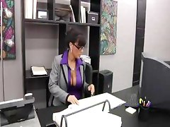 Busty Boss Lisa Ann    mature hot milf