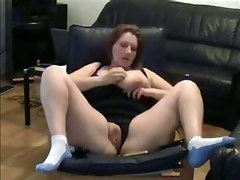 amateur homemade big tits mature chubby fat large bbw rubbing masturbation solo dildo toys webcam