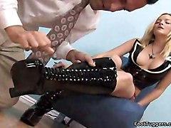 video sex blonde amateur latex fetish movie job footjob vid foot feet alexis texas foottuggers