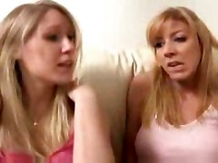 Couple Seduces Blonde Teen Allison