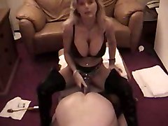 stockings blonde amateur strapon realamateur girlfucksguy