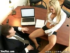 pussy employer tempting eat young