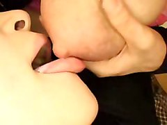 Milking and sucking tits 3   hot asian  Japanese  teen