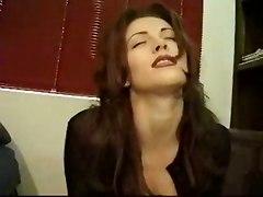 solo brunette sex toys dildo amateur anal
