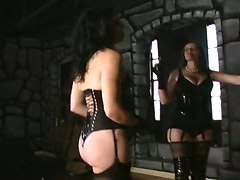 Caned By 2 Females