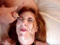 Bukkake Redhead Facial Cum Teen18  AmatureAmateur Redhead Extreme Facial