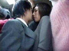JAPANESE HORNY GIRL ON THE BUS