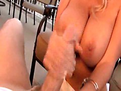tittyfuck riding blowjob handjob big tits milf pov cumshot facial amateur homemade blonde