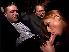 blonde  italian  european  threesome  fmm  blowjob  fat cock  finger fuck  fingering  stockings  cock ride  moan  from behind  slow  anal  close up  pussy  double facial  facial  cumshot  story Julia Taylor