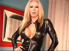 big tits striptease solo leather