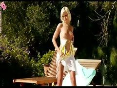 blonde teen czech solo masturbate european outdoor toys dildo masturbation pornstar