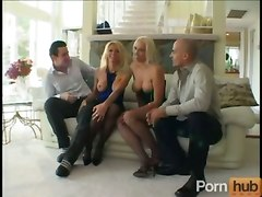 group sex hot blonde riding cock cum tits