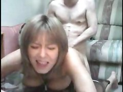 hot asian amateur babe pounded fucked hard doggystyle japan japanese