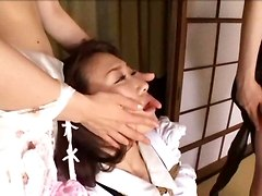 japanese domination licking hairy pussy