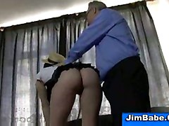 stockings cumshot hardcore blowjob brunette doggystyle shaved old cocksucking beautiful oldandyoung olderman oldman olderguy