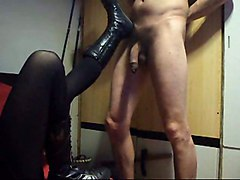 Homemade Video Femdom Ballbusting BootsAmateur Other Fetish Funny