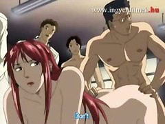 gangbang cartoon group sex busty
