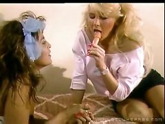 lesbians lick sex toys vintage tits