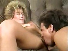 blonde babe pornstar blowjob doggystyle fuck beautiful cute classic evans niceass 80s candy cum shot barefoot