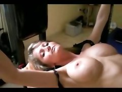 wife milf tied ass anal fuck sex creampie homemade