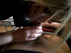 blowjob handjob pov cfnm girlfriend couple amateur homemade blonde