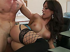brunette  office sex  office  stockings  desk  sex at work  at work  hardcore  beautiful tits  sex  xxx  fuck  fucking  from behind Capri Cavalli  Charles Dera
