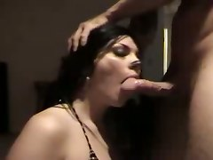 amateur homemade pornstar blowjob brunette cumshot ass fetish deepthroat tattoo fishnet stockings teasing face fuck panties facial