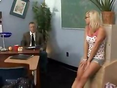 Bree Olsen Fucking The Old Teacher