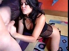 anal cumshot latina blowjob brunette asslicking bigass pussyfucking