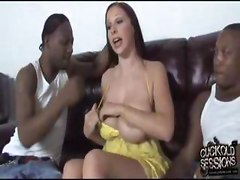 Gianna Michaels gets gangbanged by blacks