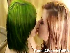 Emo Punk Goth Gothic Homemade Hot Cute Sexy Young Teen Teens 18  Amateur Lesbian Home made