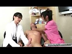 anal blowjob threesome bigtits nurse cfnm