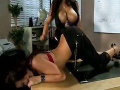 lisa ann mom busty pussy licking pussy shaved high heels culotte teacher lesbian